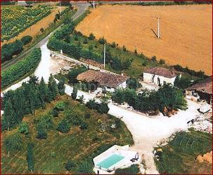 Campsite à la ferme Les Glaudes