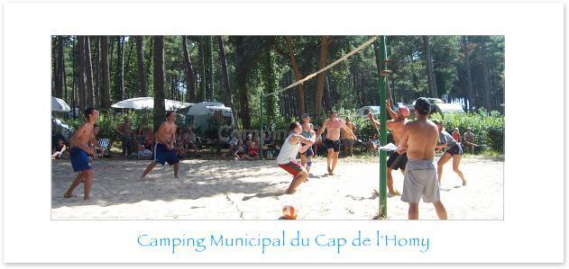 Campsite Municipal De La Plage Du Cap De L'homy