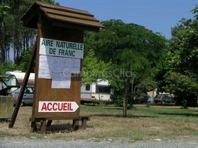 Campsite aire naturelle de Franc