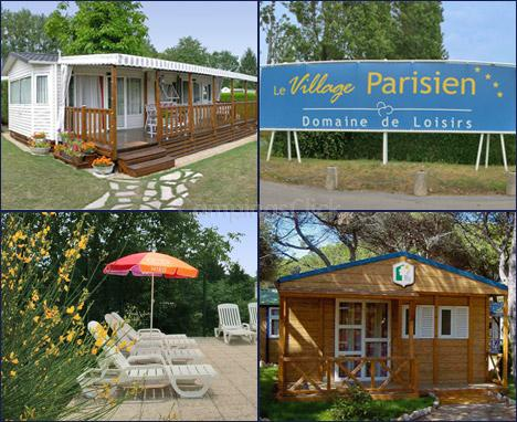 Campsite Village Parisien